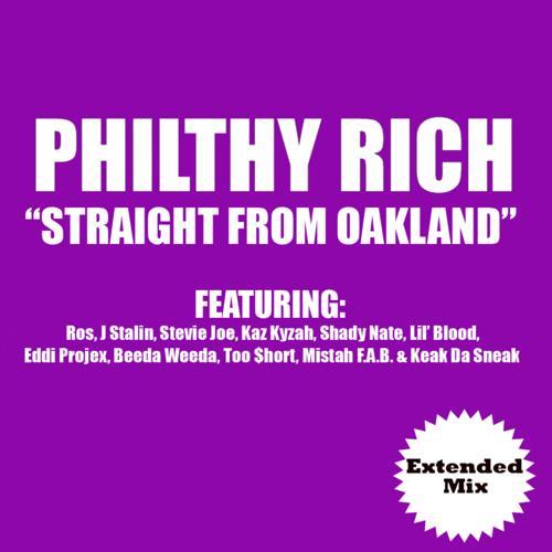 Ros, J Stalin, Kaz Kyzah, Shady Nate, Lil Blood, Eddie Projex, Beeda Weeda, Keak Da Sneak, Mistah F.A.B., Too Short, Stevie Joe, Philthy Rich, TD Camp - Straight from Oakland (Extended Version)  (2009)