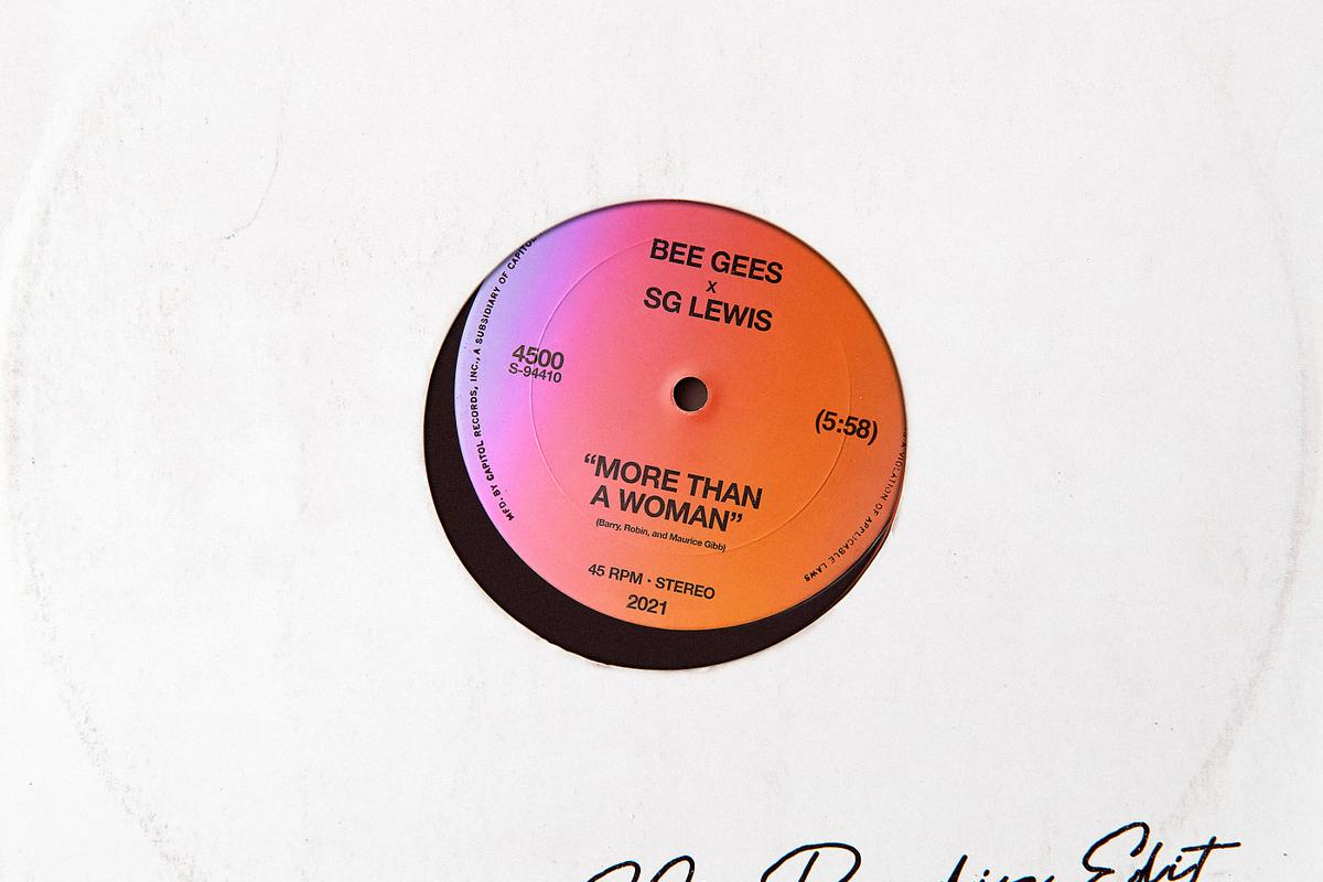 Bee Gees, SG Lewis - More Than A Woman (SG's Paradise Edit)